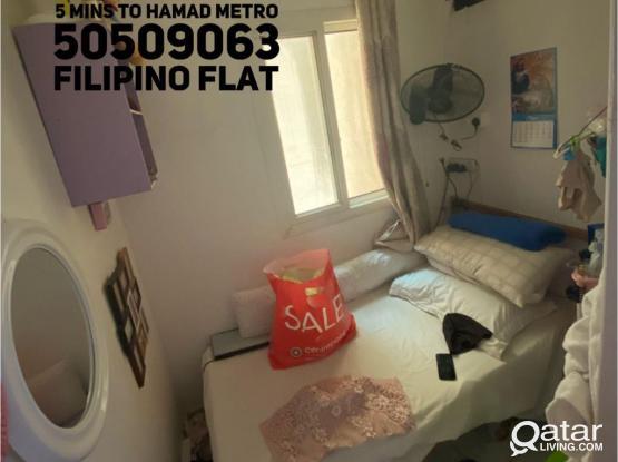 Balcony BIG PARTITION ROOM IN AL SADD FILIPINO 900 QAR