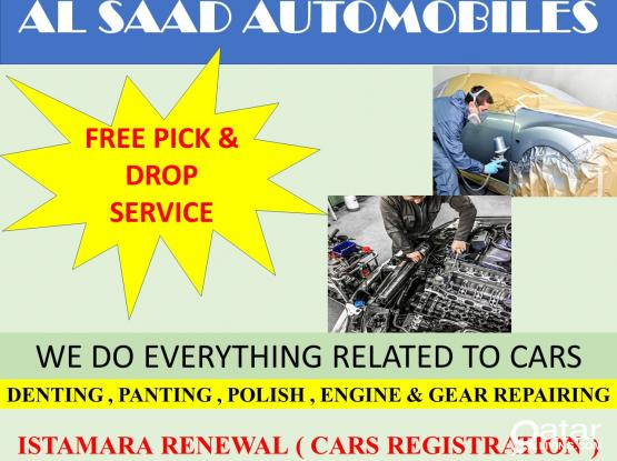 ALL TYPES OF CARS REPAIRING
