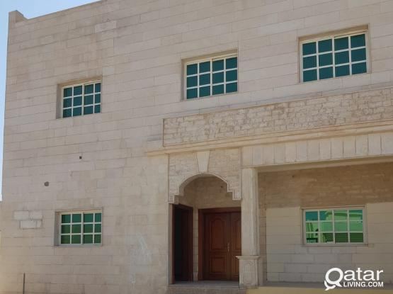 6 bedroom stand alone villa for rent in wakrah