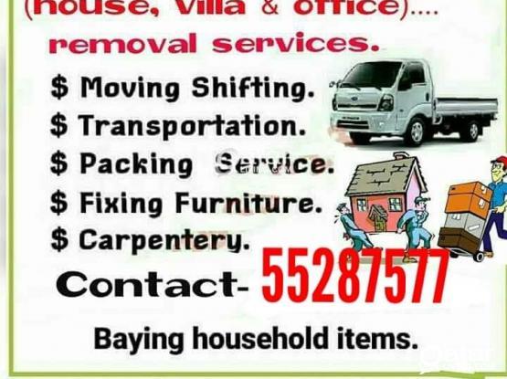 We do less price.....moving shifting carpenter transport service. Pleas call me 55287577