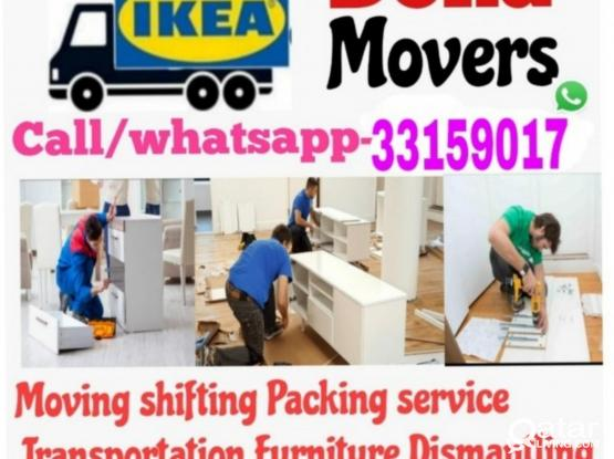 Moving and Shifting all over Qatar. 33159017 Good price and amazing service. Please WhatsApp the work and location- 33159017