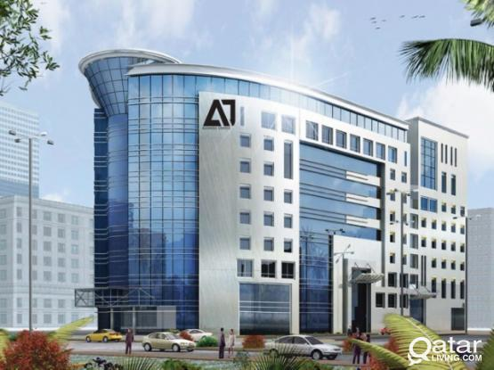 Spacious and Prime location! Office space for rent in Najma