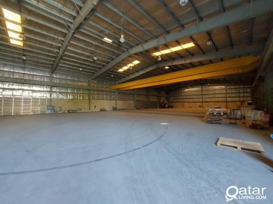 FOR RENT WORK SHOP 1600SQM IN INDUSTRIAL AREA