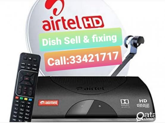 We do work Installation all Satellite Dish Tv New & old fixing Dish & Moving  Tv signal service Call Me:974:-33421717.Any time 24/7 hour Doha city. New & Old Dish Tv receiver fixing work. Dish Tv Moving & Shifting work.Now Discount Offer.