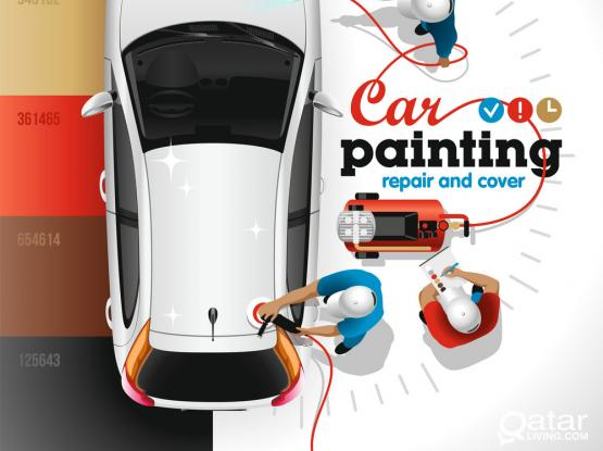 Car Painting And Polishing Service Available