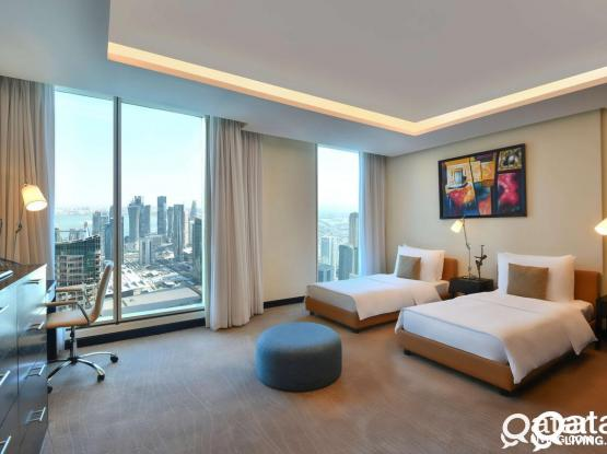Twin Room Available Nov 20 - Kempinksi Residences & Suites