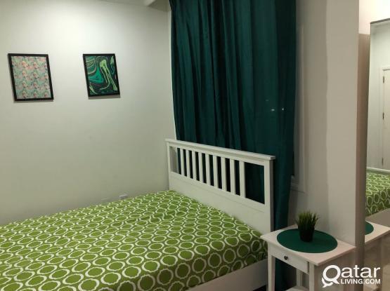 Fully furnished studio apartment - Near Souq Baladi/Ashgall offoce/Behind Dana Hyper