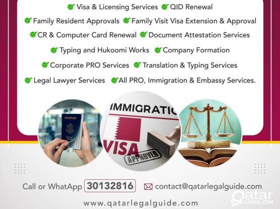 PRO,Labour,Legal & Immigration Services
