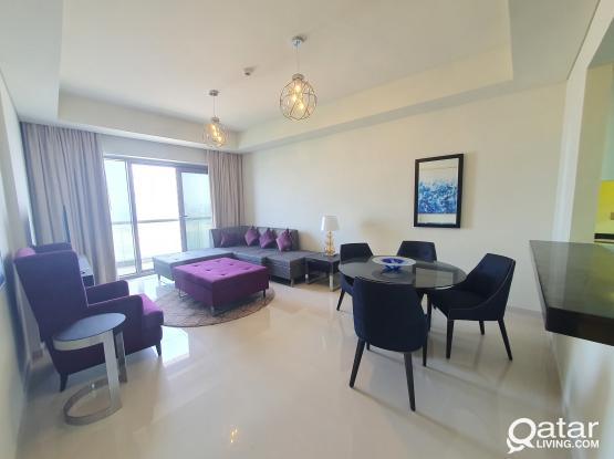 Sea View Apartment in Lusail Damac Tower