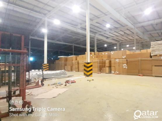 50 - 100 - 200 - 300 SQM STORE SPACE