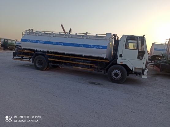 We supply drinking water in tankers