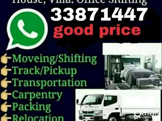 All kind of Moving, Shifting and Packing. Please contact 33871447