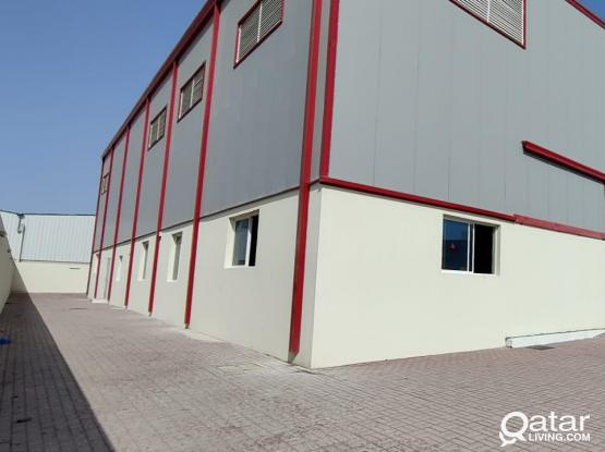 1200 Store / Workshop with 12 Room For Rent - Barkat Al Awamer
