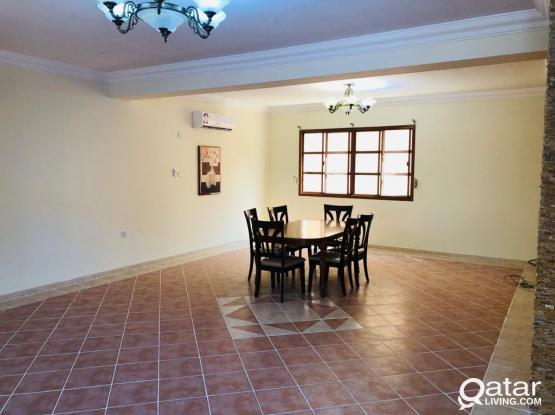 Semi Furnished 3BR Compound Villa in Abhu Hamour.