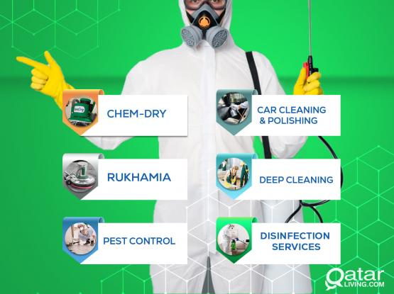 GET PESTS OUT & KEEP THEM OUT with Chem Dry Qatar