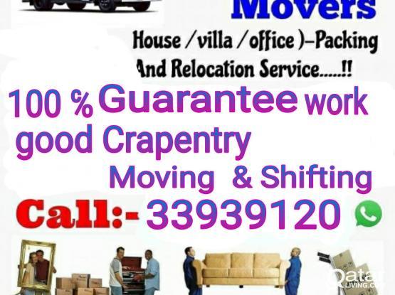 Call: 33939120 Qatar moving company House shifting moving & Qatar service MOVING shifting