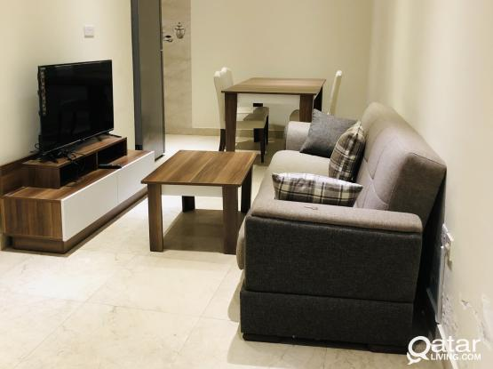 Location: Duhail  We have 12 Unit 1 bhk Available   Beautiful and Compact Fully Furnished 1BHK Apart