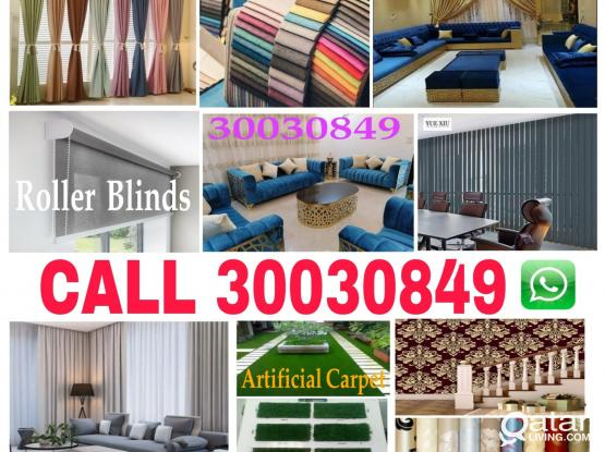 Call 30030849 new making curtains, Sofa and upholstery