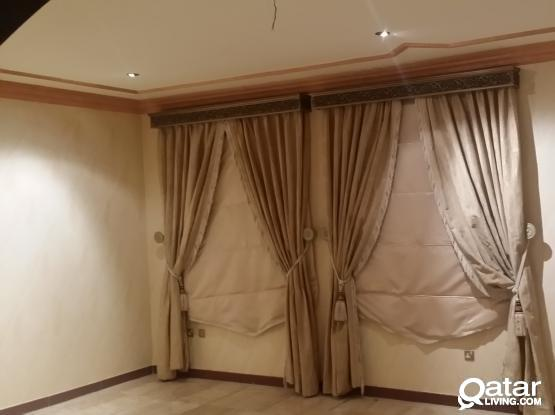 Very Big 1BHK with extra kids' room in Posh villa in Dafna QR3600