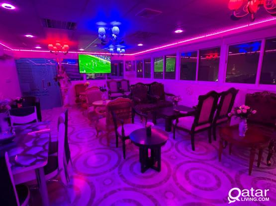 Brand new Fully Furnished Shisha Cafe for Rent