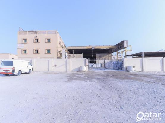 7200 Sqm Factory with Labor Accommodation