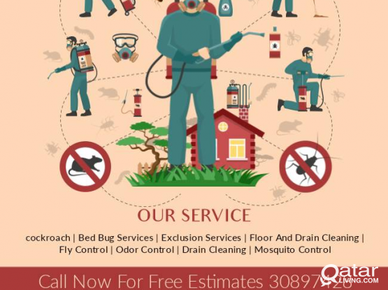 Disinfection ,pest control and  cleaning service