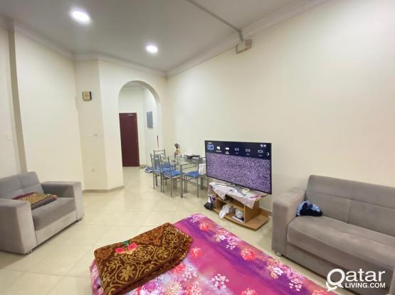 Fully Furnished 1BHK Short/Long Term Available in Umm Mguwalina near C-Ring Road