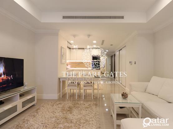 Pristine Studio | with Balcony | Elegant Interior