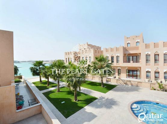 Beachfront Villa | Shared Pool | 5 BDR + Maids