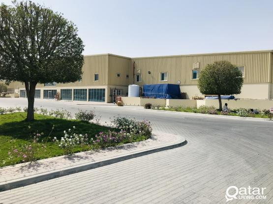 50, 100, 200 sqmr Storage space For Rent