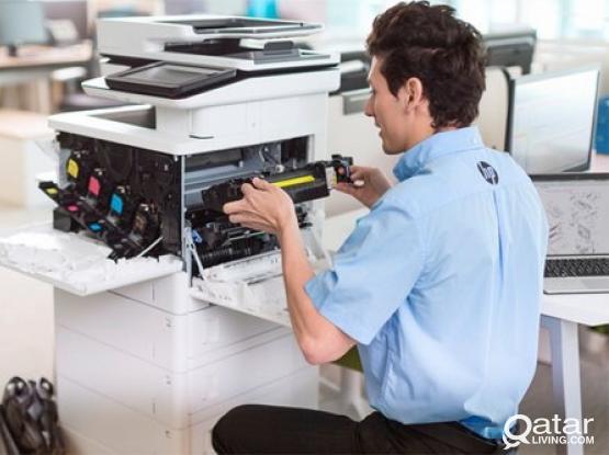 Printer/Copier Repairs, Services And Maintenances