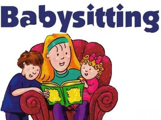 Baby sitting or daycare