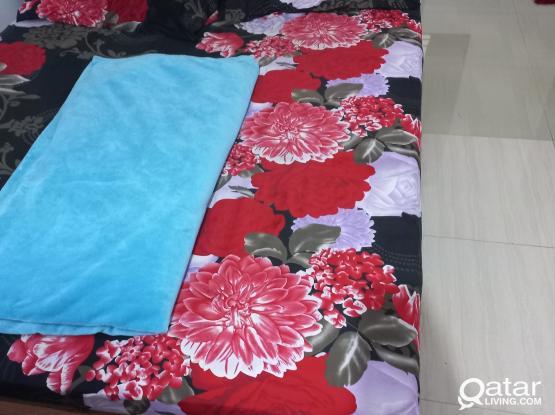 Executive Bed Space in studio at Garrafa Near Sidra Medicals