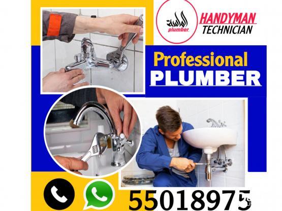 PLUMBING GLASS MIRROR SERVICE .CALL 55018975