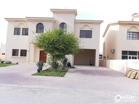 Spacious 3bed private villa in a compound