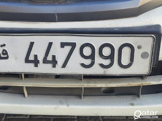 Number Plate (447990)