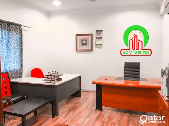 25 SQM shared office space in a gorgeous location of Bin omran