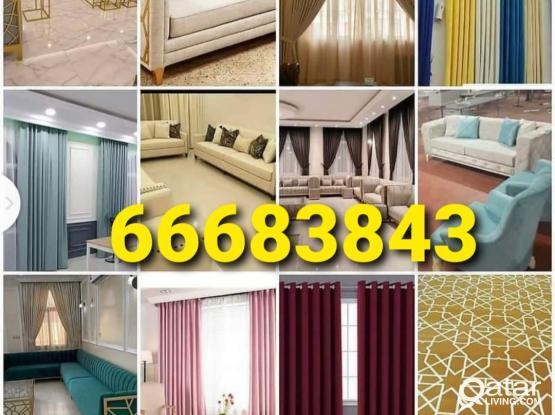 New Curtains Leoline Plastic PVC Vinyl Wooden Parquet Flooring Blackout Roller Installation, Sales New Making Repair & Fixing. Call Me 66683843