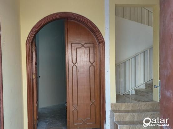 2bhk ground floor villa apartment, al maamoura. Behind safety training center