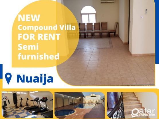 Semi Furnished 3BHK Villa in Nuaija