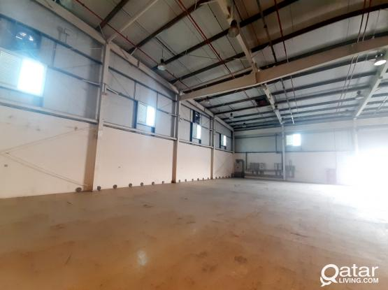 350 SQM STORAGE SPACE FOR RENT