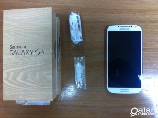 Samsung S4 White 16GB for Sale