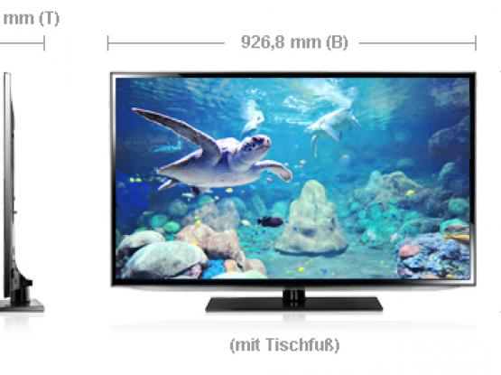 Smart LED Samsung 40 inch 3D Full HD with Blueray