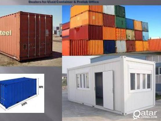 USED CONTAINERS FOR SALE 20FT & 40 FT IN DOHA