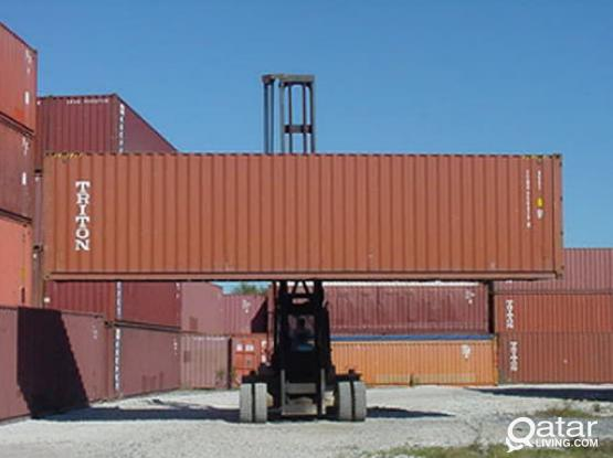 USED 40 FT & 20FT CONTAINERS FOR SALE