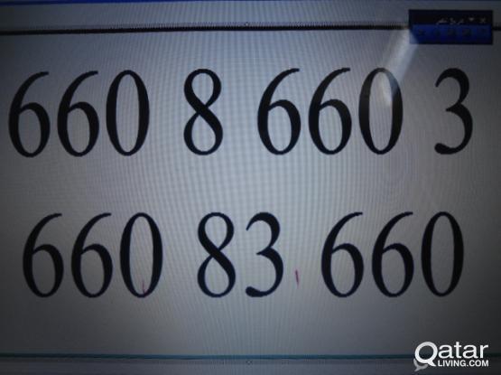 66086603  &   66083660   OOREDOO  VIP