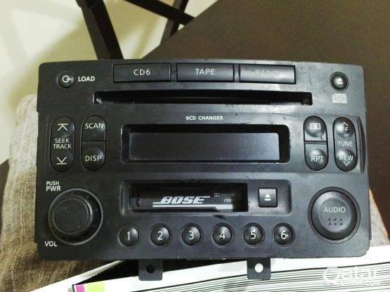 Nissan 350Z Bose Stock CD Player Original