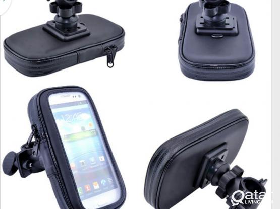 Waterproof case bicycle / motorbike handlebar mount