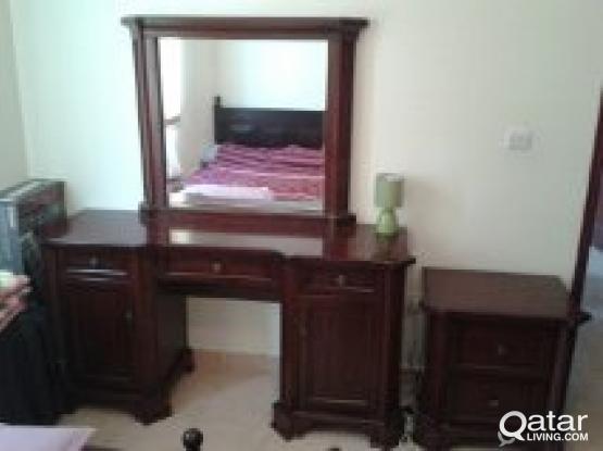 Vanity and nightstand