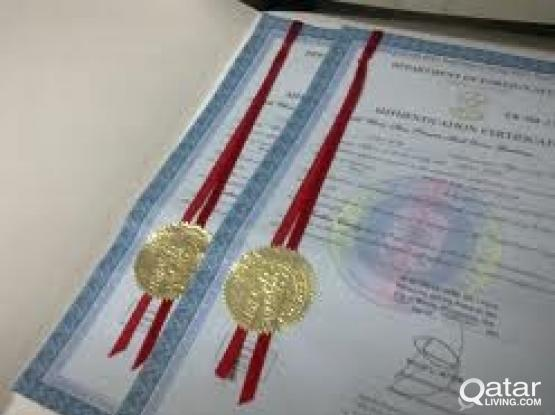 Translation & certificate Attestation services- NO 1